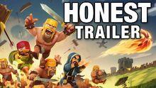 Honest game trailer clash of clans
