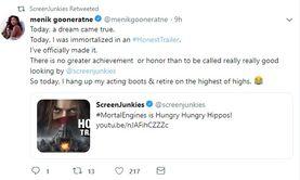 Menik gooneratne tweet mortal engines