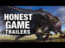 Honest game trailers monster hunter world