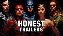 Honest trailer justice league