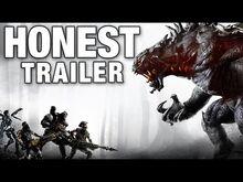 Honest game trailer evolve