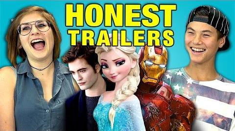 Honest Trailers reaction videos