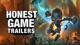 Honest Game Trailers Destroy All Humans!