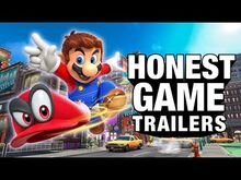 Honest game trailer super mario odyssey