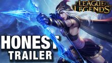 Honest game trailer league of legends