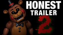 Honest game trailers five nights at freddys 2