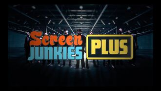 Screen junkies plus logo