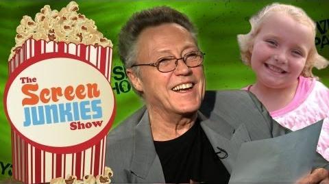 """Christopher Walken Reads """"Honey Boo Boo""""!"""