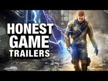 Honest game trailer infamous
