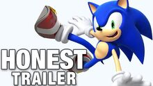 Honest game trailer sonic the hedgehog