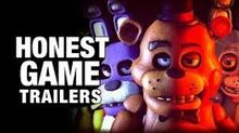 Honest game trailers five nights at freddys ultimate custom night