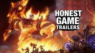 Honest Game Trailers World of Warcraft Classic