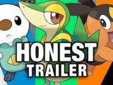 Honest Game Trailers - Pokemon Black & White