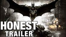 Honest game trailer batman arkham knight