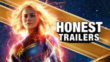 Honest trailer captain marvel