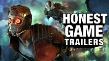 Honest game trailer guardians of the galaxy telltale