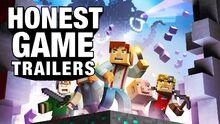 Honest game trailer minecraft story mode