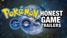Honest game trailer pokemon go