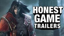 Honest game trailer castlevania