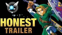 Honest game trailer selda ocarina of time