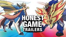 Honest game trailers pokemon sword and shield