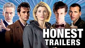 Doctor who modern honest trailer thumbnail