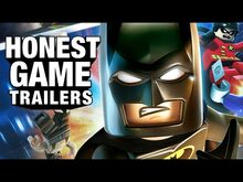 Honest game trailer lego batman
