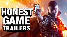 Honest game trailer battlefield 1