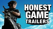 Honest game trailers final fantasy xv