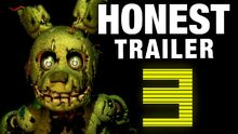 Honest game trailer five nights at freddys 3