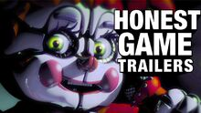 Honest game trailers five nights at freddys sister location