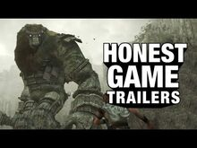 Honest game trailer shadow of the colossus