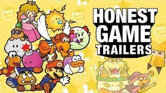 Honest Game Trailers Paper Mario