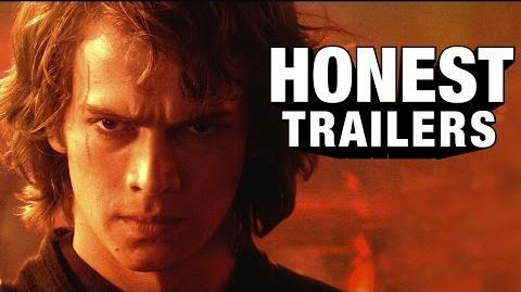 Honest Trailer Star Wars Episode Iii Revenge Of The Sith Honest Trailers Wikia Fandom