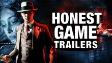 Honest game trailer la noire