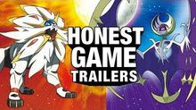 Honest game trailer pokemon sun and moon