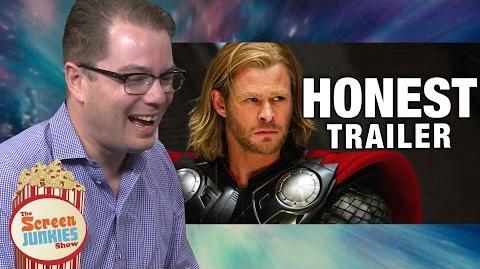 Honest Reactions- Thor Writer Watches Thor Honest Trailer