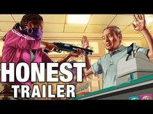 Honest game trailer grand theft auto online