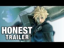 Honest game trailer final fantasy vii