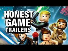 Honest game trailer lego star wars