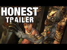 Honest game trailer the walking dead