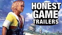 Honest game trailer final fantasy x