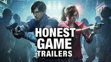 Honest game trailer resident evil 2