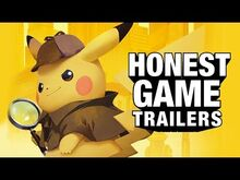 Honest game trailer detective pikachu