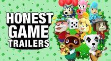 Honest game trailer animal crossing