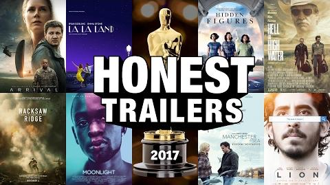 Honest Trailer - The Oscars (2017)