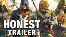 Honest game trailer assassins creed unity
