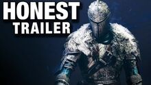 Honest game trailer dark souls