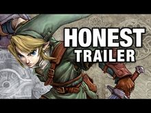 Honest game trailers zelda twilight princess