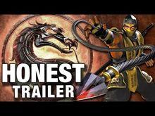Honest game trailer mortal kombat